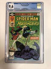Marvel Team-up (1980) # 95 (CGC 9.6 WP) | 1st App Mockingbird |