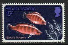 Pitcairn Island Fish Themed Stamps