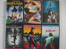 Tanzfilm Sammlung Flashdance, Save the last Dance, Footloose, Dance with me