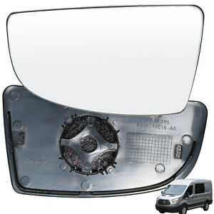 For Ford Transit 150 250 350 2014-18 Left Driver Door Side Mirror Glass Lower