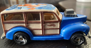 Hot Wheels Woody SURF BEAT! Vintage 1979 Worn But It Nice Condition See Picture