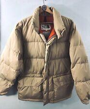 L Vtg 70s North Face Jacket- Puffer Parka down coat- Authentic Vintage