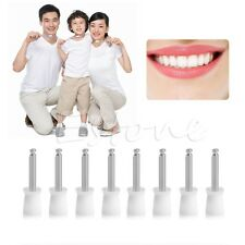 100Pcs Dental Latch Polisher Type Polishing Prophy Cups Tooth Bowl Brushes White