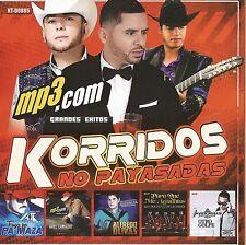 KORRIDOS NO PAYASADAS EN MP3 MIXTAPE 99 CANCIONES BANDA CORRIDOS NORTENO