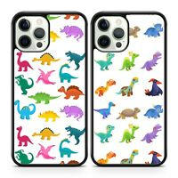 Colourful Dinosaurs Tyrannosaurus T Rex Animal Kids Children Phone Case Cover