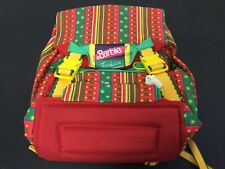1992#VINTAGE RARE BARBIE FASHION MATTEL BACKPACK ZAINO #NEW WITH TAGS