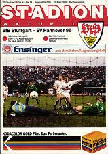 BL 87/88 VfB Stuttgart - Hannover 96, 22.03.1988
