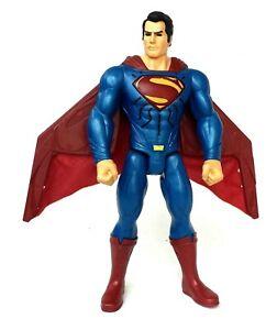 """Mattel DC COMICS Heat Vision Superman 12"""" Action Figure Lights & Sounds!!"""