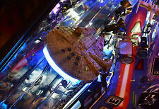 Star Wars Pinball Machine Lighted **INTERACTIVE** Millennium Falcon Mod