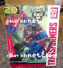 Transformers Platinum Edition Optimus Primal in stock