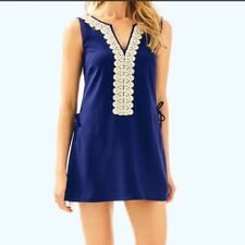 NWT Lilly Pulitzer Donna Romper Dress True Navy Size 00 $178