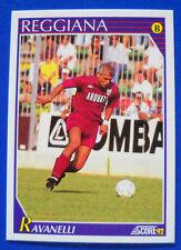 FIGURINA/CARD-SCORE '92 - N. 338 - FABRIZIO RAVANELLI - REGGIANA - new