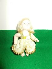 """Precious 4"""" Porcelain? Baby Doll with Moveable Arms and Legs"""