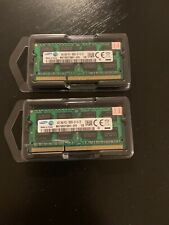 Lot of 2x 4GB  Samsung DDR3 1066 MHz PC3-8500S  2RX8 MacBook, laptop RAM Memory