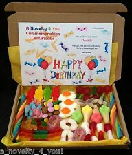 Jelly & Chocolate Sweet Gift Box Personalised Birthday 16th 18th 21st Eid Halal