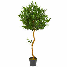 58 Olive Topiary Artificial Tree UV Resistant (Indoor/Outdoor)