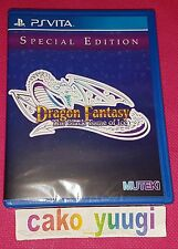 DRAGON FANTASY THE BLACK TOME OF ICE PS VITA  VERSION US LIMITED RUN #19 NEUF