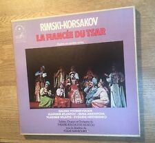 Coffret 3 LP Rimski-Korsakov La fiancée du tsar Vichnievskaïa Atlantov Mansourov