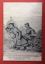 CPA. 1930. Illustrateur OCHS. Liège. Le Marchand de Terre Glaise.