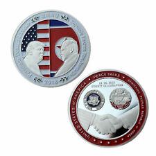 American Peace Talk Commemorative Coin Souvenir Collection Silver 2018