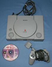Sony PlayStation Game console w/ Controller & Sim Theme Park Game SCPH-5501