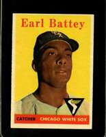 1958 TOPPS #364 EARL BATTEY EXMT WHITE SOX  *XR20181