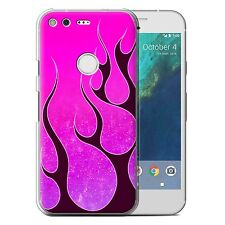 STUFF4 Phone Case for Google Nexus/Pixel Smartphone/Flame Paint Job/Cover