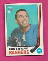 1969-70 OPC # 41 RANGERS RON STEWART  VG CARD (INV# A9363)