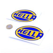 Hella Rally Car Stickers Classic Car Motorbike Racing Vinyl Decals 100mm x2