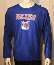 Genuine NHL New York Rangers Long Sleeve Shirt Blue 2XL XXL
