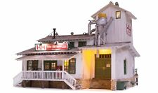 Woodland Scenics 5859 H&H Feed Mill - O Scale Building Built Up NEW RELEASE