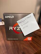 AMD Ryzen 9 5900X Desktop Processor (4.8GHz, 12 Cores, Socket AM4) NEW IN HAND