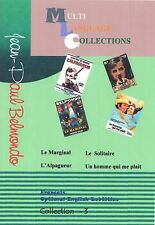 Jean-Paul Belmondo. 4 movies Collection 3.  2 DVD's Set.
