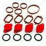 32mm RED ALUMINIUM SWIRL FLAP REPLACEMENT SET + O-RING FOR BMW 3 SERIES NEW