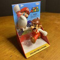 "Jakks World of Nintendo 2.5"" figure: Running Fire Mario Cappy *NEW 2020*"