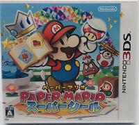 Nintendo 3DS Paper Mario Super Seal Japan Edition US Seller
