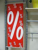 10er Set Posterschienen Poster Plakatschienen Werbung Wechselrahmen Schiene NEU