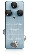 One Control Sonic Blue Twanger Distortion Guitar Effect Pedal