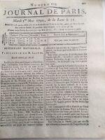Neauphle le Chateau en 1792 Chablis Beaumont Chalette sur Voire Tonnerre