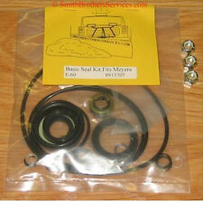 Meyer E-60 Plow  Pump Basic Seal Kit + 3 new nuts