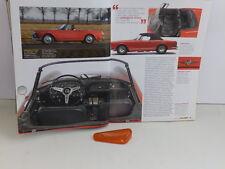 ALFA ROMEO 2600 SPIDER DEL 64 - TRASPARENTE FANALE LATERALE DX ORIGINALE LEART