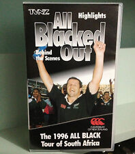 ALL BLACKED OUT - THE 1996 ALL BLACK TOUR OF SOUTH AFRICA - VHS