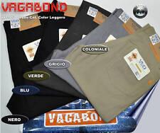 VAGABOND Jeans PANTALONE COTONE 5 TASCHE COLOR  46 48 50 52 54 56 58 60 62