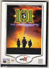 101st AIRBORNE IN NORMANDY - ACTION GAME - 101 - WINDOWS - NEW SEALED PC CD ROM