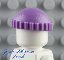 NEW Lego Female Minifig PURPLE KNIT CAP Girl Friend Lavender Beanie Pixie Hat