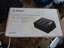 ORICO SUPERSPEED USB 3.0  3 bay Triple SATA Hard Drive Dock [6638US3-C]