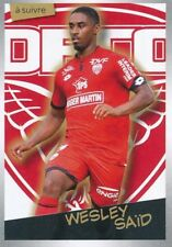 128 WESLEY SAID A SUIVRE DIJON FCO  STICKER PANINI FOOT 2018