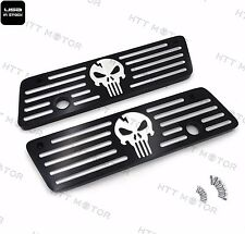 Black Aluminum CNC Hard Saddlebag Latch Cover For Harley 1993-2013 Touring FLHT