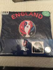 Child's Con capucha euro 2016 7 - 8 Años Azul Marino Nuevo producto oficial de la UEFA