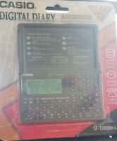 New Casio Digital Diary 32KB SF-3300 BK-S Factory Sealed